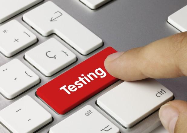 keep testing trying